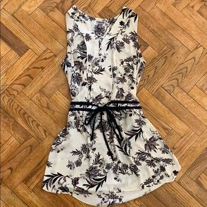 Chelsea 28 White Floral Dress